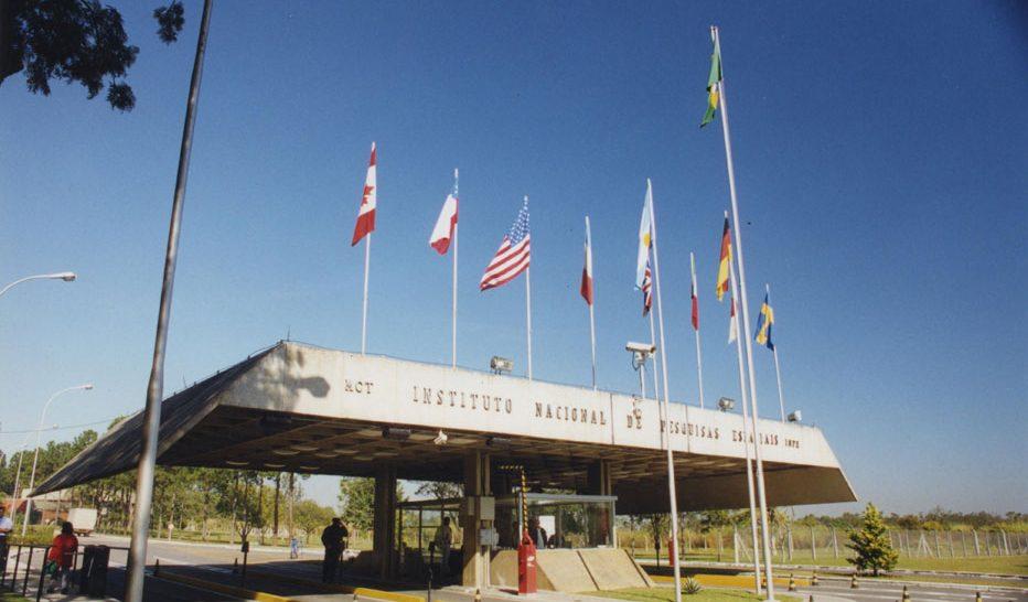 Portaria principal do Instituto Nacional de Pesquisas Espaciais (Inpe), em São José dos Campos (SP). Foto: Inpe/Divulgação